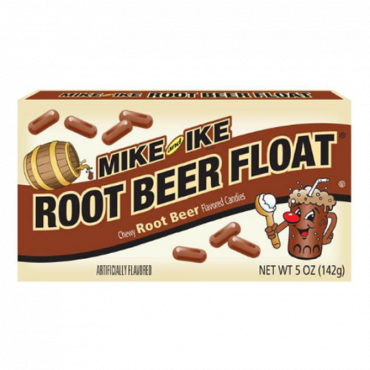 Mike & Ike Root Beer Float Theater Box 141g (5oz) (Box of 12)