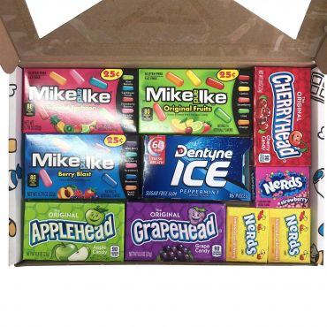 Picaboxx American Candy Selection Gift Box – 10 Products (Box of 6)