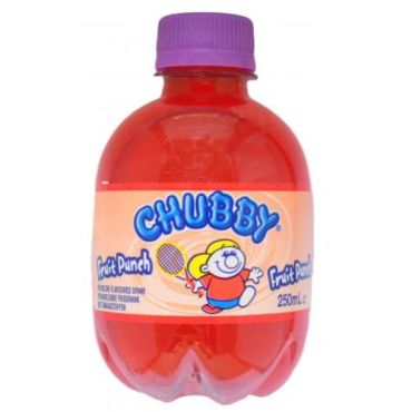 Chubby Fruit Punch 250ml (Box of 24)