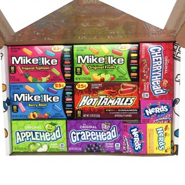 Picaboxx Small American Candy Selection Gift Box ★10 Products (Box of 6)