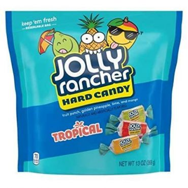 Jolly Rancher Tropical Assorted Hard Candy 368g (13oz) (Box of 8)