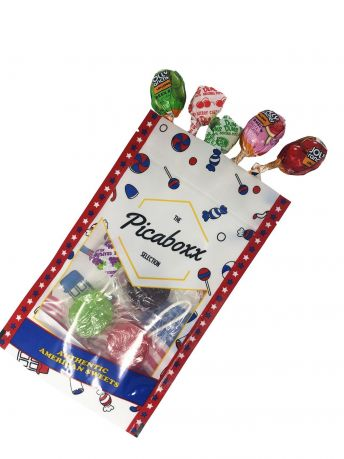 Picaboxx American Lollipop Gift Pouch (Box of 10)