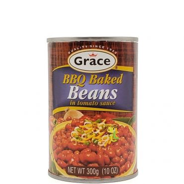 Grace BBQ Baked Beans 300g (Box of !2)